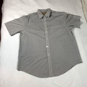 Roundtree & Yorke Gold Label SS Non-Iron Shirt L